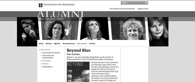 Beyond Blue Feature UvA Alumni