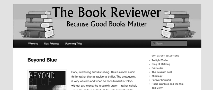 The Book Reviewer Peter Schimke Page