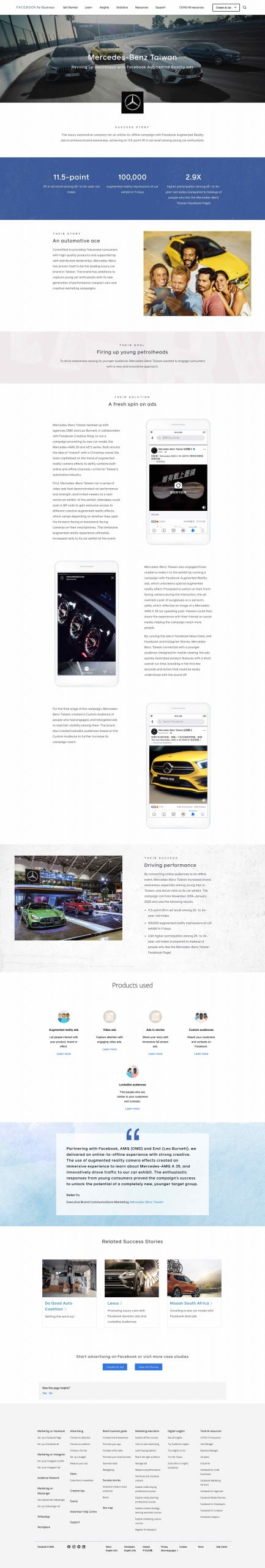 Facebook Instagram Case study 05